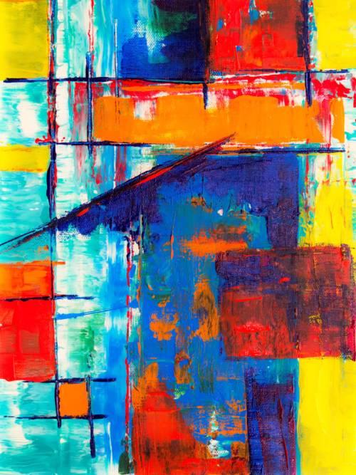 Fond d'écran de Peinture abstraite