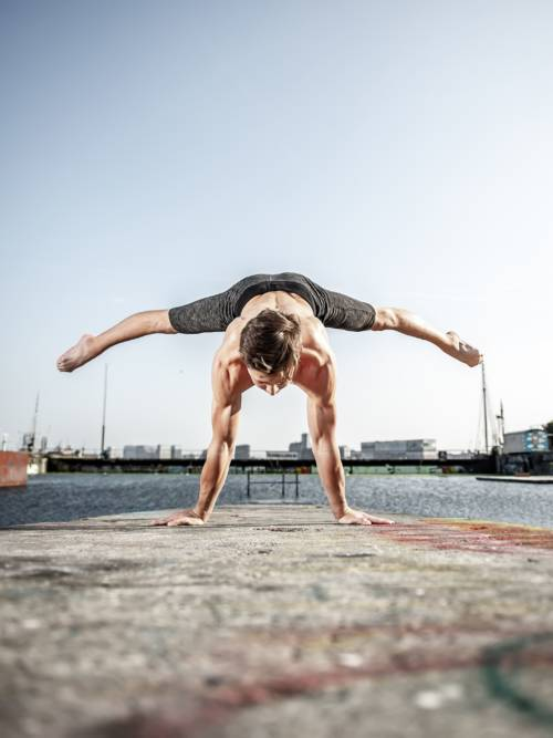 Fond d'écran de Exercice acrobatique