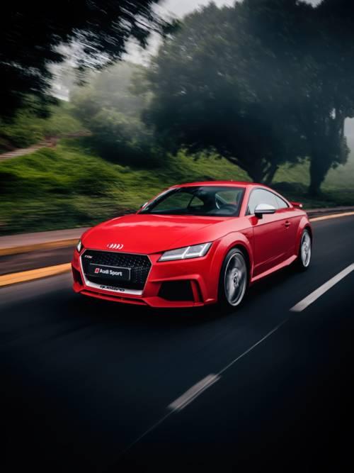 Audi TT Quattro wallpaper