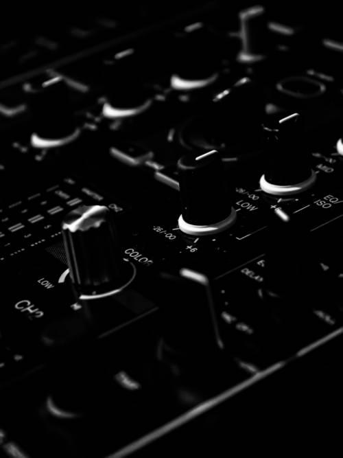 Fondo de pantalla de Mezclador de audio para móviles y tablets