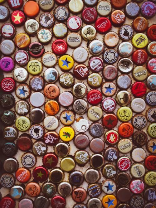 Fond d'écran de Bouchons de bouteilles