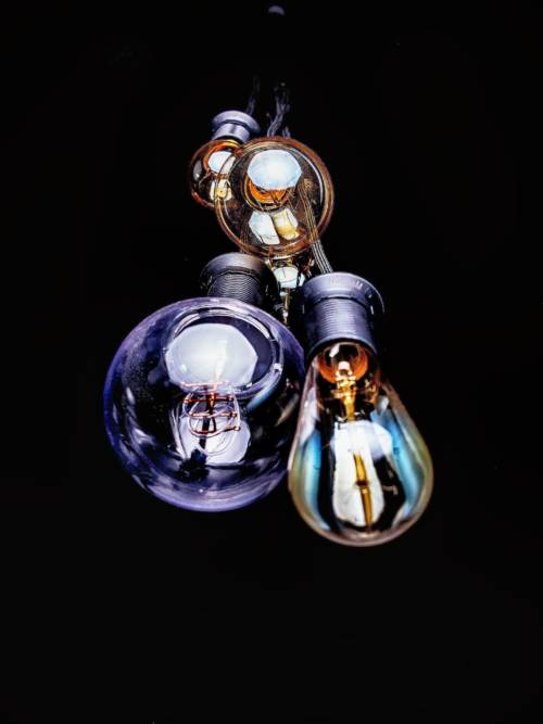 Bulbs off wallpaper