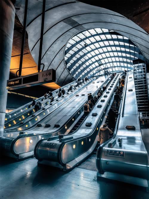 Fondo de pantalla de Estación de metro Canary Wharf