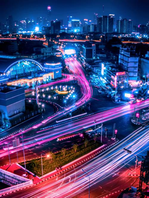 Fondo de pantalla de Estación central de Bangkok