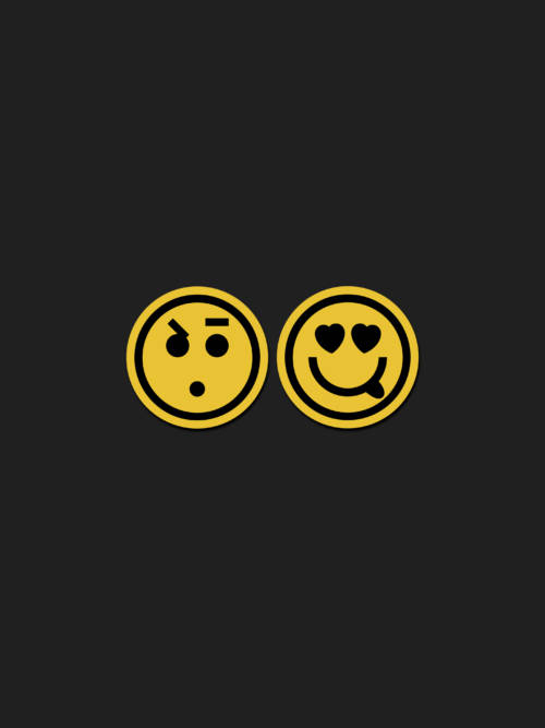 Emoji Paar Wallpaper für Handys und Tablets