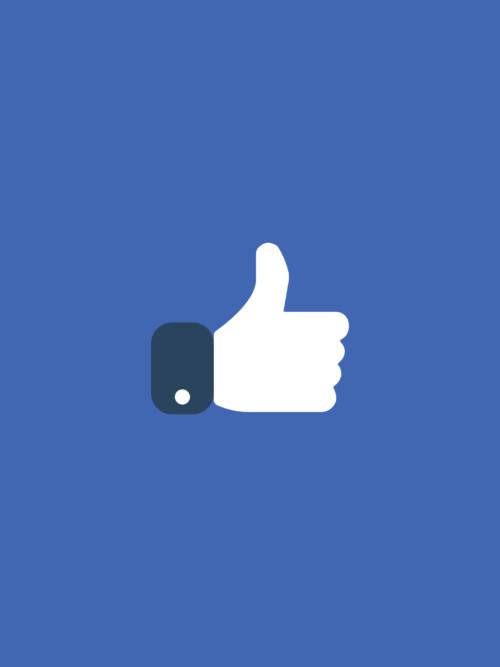 Facebook like wallpaper