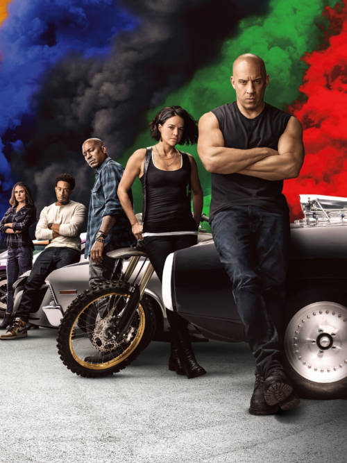 Fondo de pantalla de Fast and Furious 9