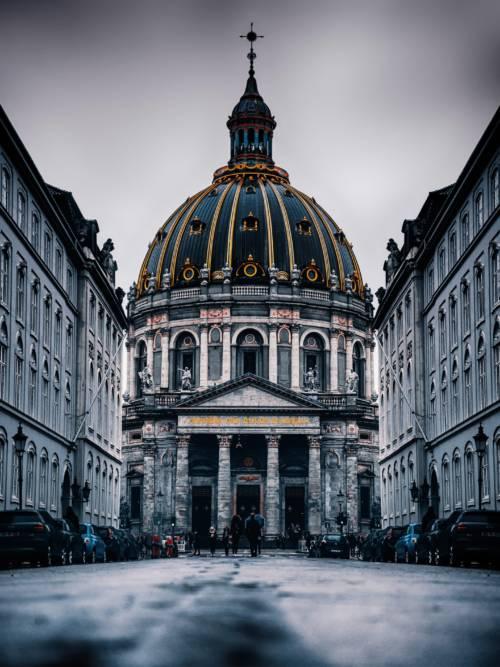Fond d'écran de Église Frederik à Copenhague