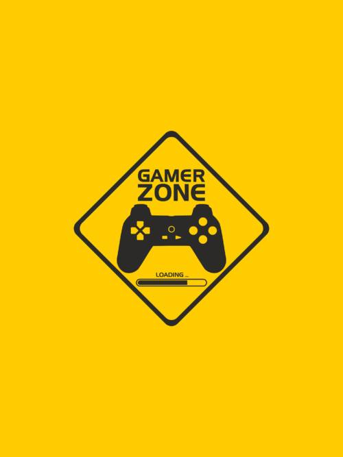 Gamer zone wallpaper