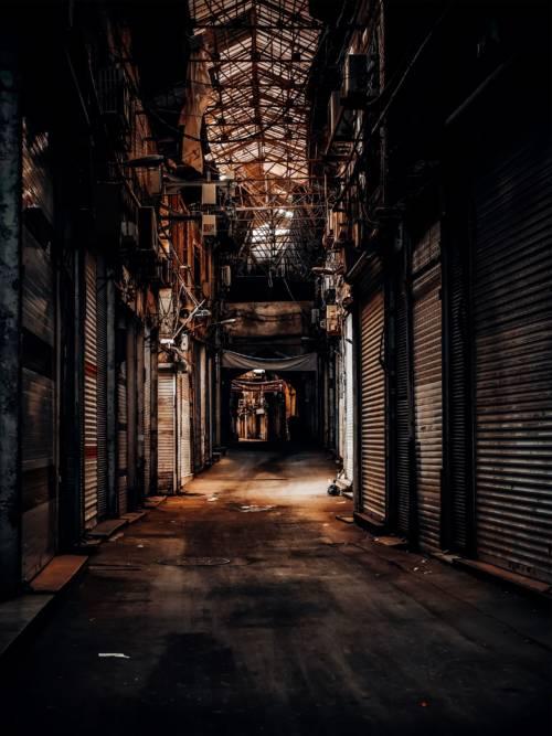 Papel de parede de Grande Bazar em Teerã