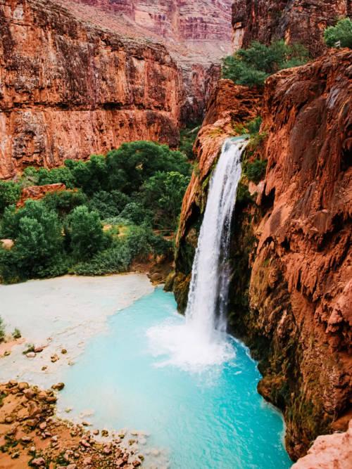 Havasu Wasserfall wallpaper