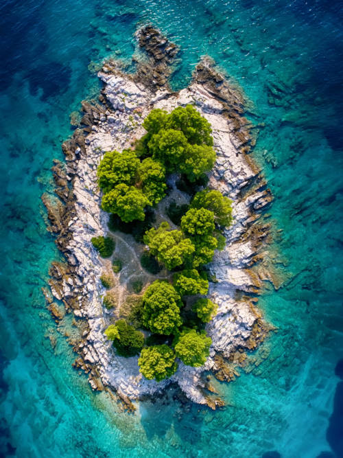 Insel in Kroatien wallpaper