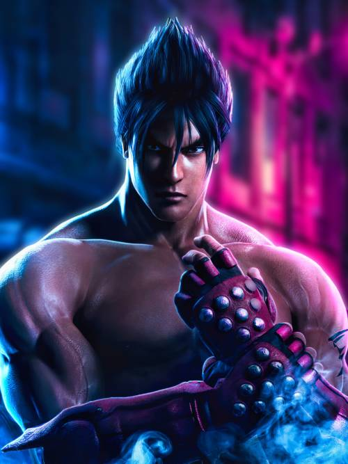 Jin Kazama Tekken wallpaper