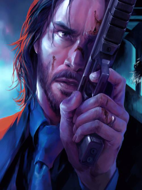 John Wick wallpaper for mobiles and tablets