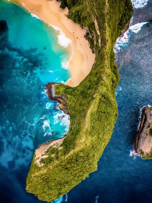 Fondo de pantalla de Playa de Kelingking en Nusa Penida