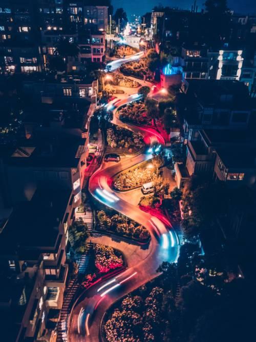 Fond d'écran de Lombard Street