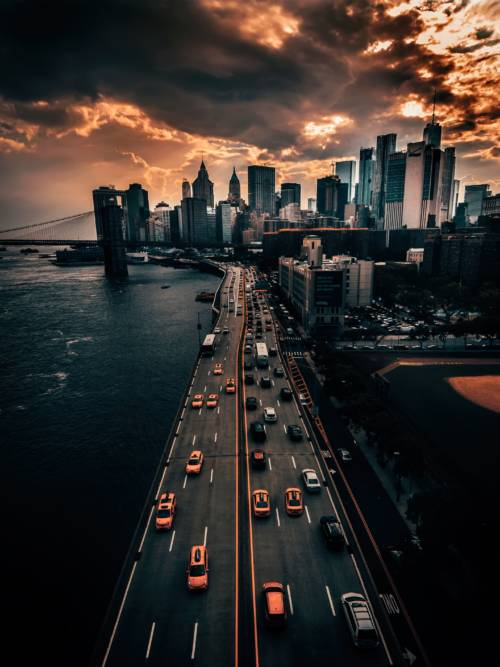 Papel de parede do Manhattan para celulares e tablets