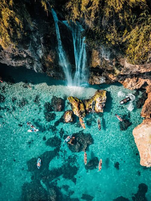 Papel de parede de Cachoeira Maro em Nerja