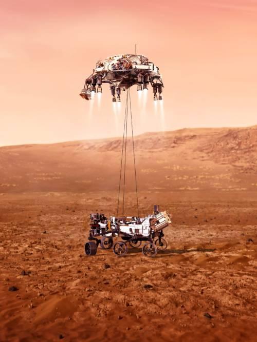 Fond d'écran de Mars 2020 Perseverance Rover