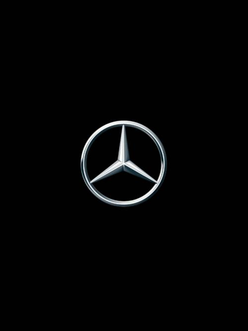 Mercedes badge wallpaper