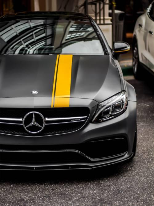 Mercedes Benz AMG C63S Wallpaper für Handys und Tablets