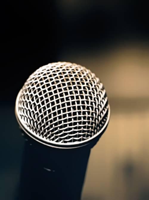 Fond d'écran de Microphone