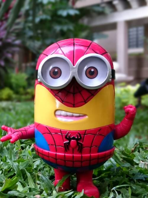 Minion von Spiderman wallpaper