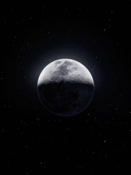 Fond d'écran de Lune