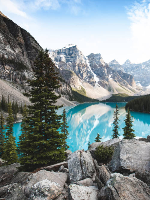 Moraine See wallpaper