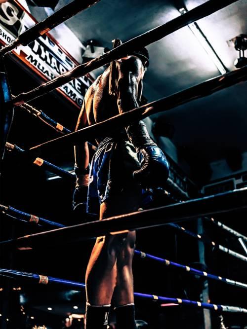 Fond d'écran de Combattant de Muay Thai pour mobiles et tablettes