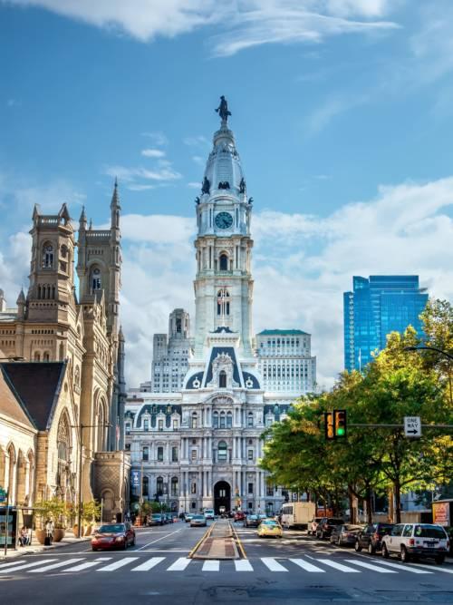 Fond d'écran de Hôtel de ville de Philadelphie
