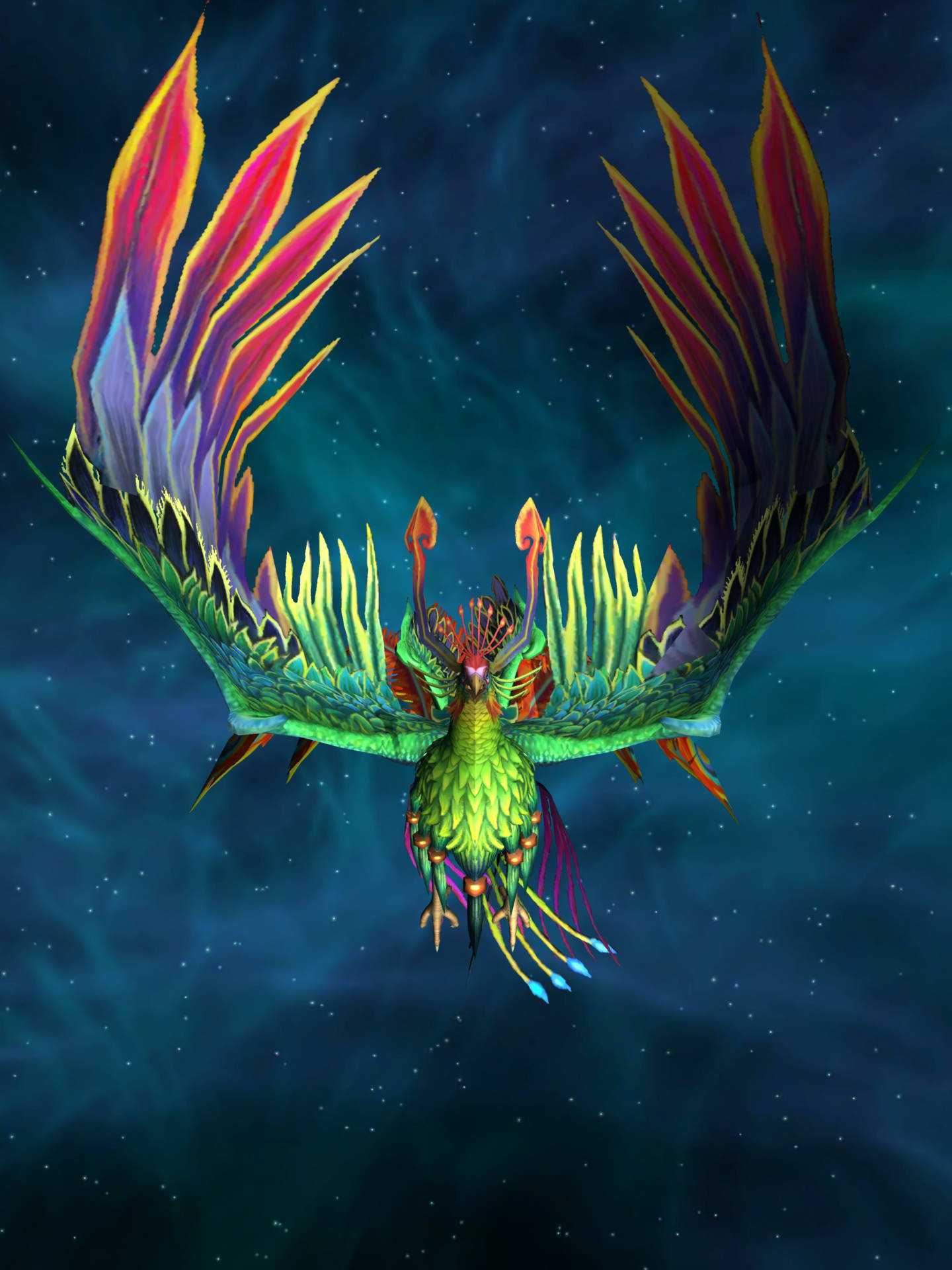 Phoenix vogel live wallpaper