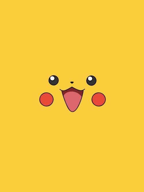 Fondo de pantalla de Cara de pikachu