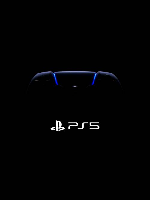 PS5 Gamepad wallpaper