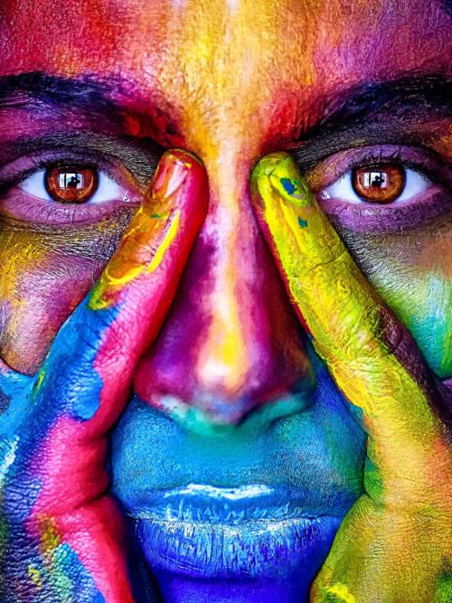 Papel de parede de Mulher arco-íris