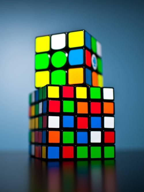 Fond d'écran de Rubik's Cube pour mobiles et tablettes