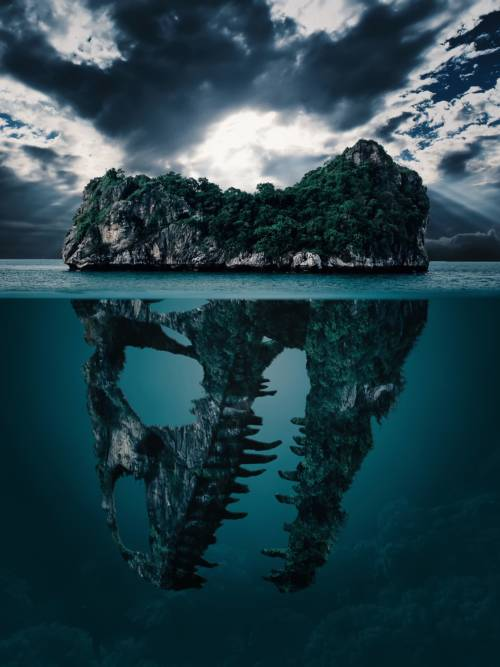 Fond d'écran de Île secrète