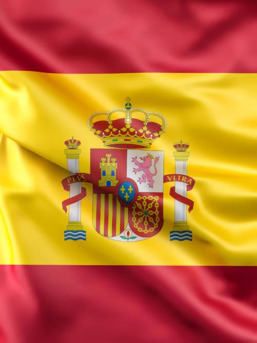 Papel de parede de Bandeira da Espanha