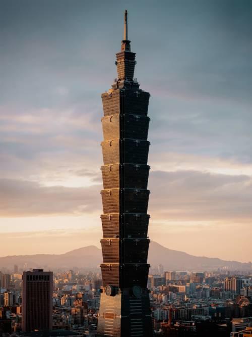Fond d'écran de Taipei 101