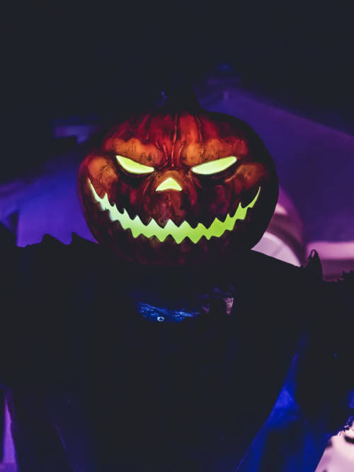 Terrifying pumpkin wallpaper