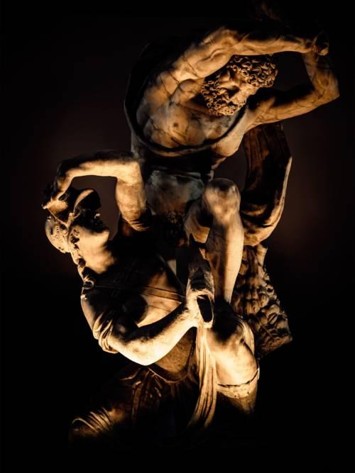 Fond d'écran de La statue de combat