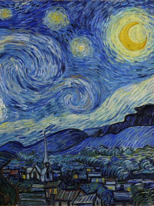 The Starry Night wallpaper