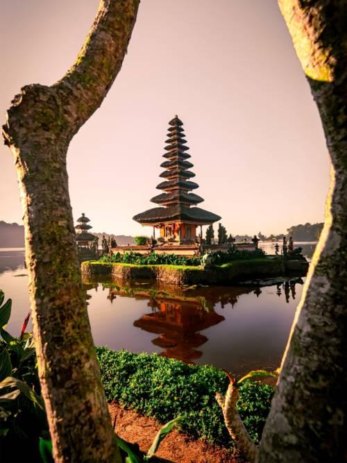 Fond d'écran de Temple d'Ulun Danu Beratan
