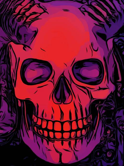 Vector Skull Wallpaper Wallery