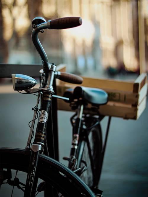 Papel de parede de Bicicleta vintage