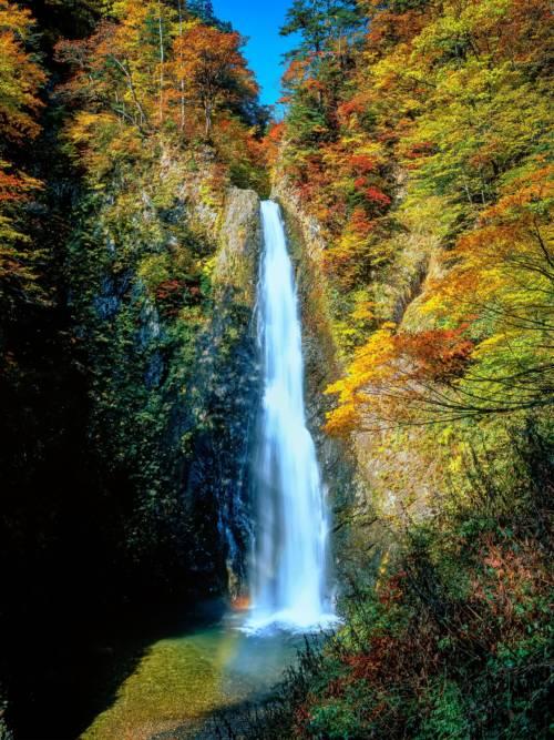 Papel de parede de Cachoeira no outono